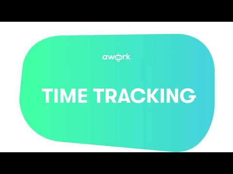 awork tutorial: time tracking