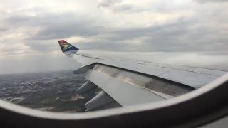 [HD]Captains Final Flight: South African Airways Airbus 340-600, Cape Town-Johannesburg