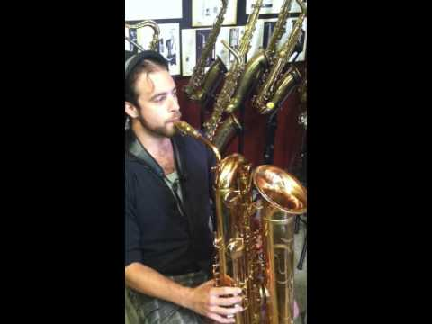 Slyfox playing Eppelsheim's Eb Tubax