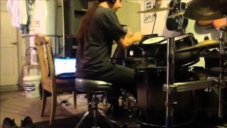 Rotted Body Landslide Cannibal Corpse Drum Cover