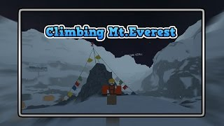 Climbing Mt. Everest in Roblox