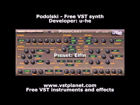 Podolski – Free VST synth – vstplanet com