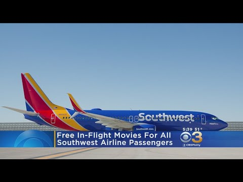 Sylvia Chacon - Southwest Free  Holiday In-Flight Entertainment
