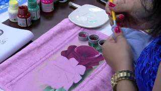 Pintura de rosas – Ana Laura Rodrigues PT1