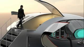 Quantum Cruiser Exterior Tour And Takeoff