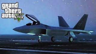 GTA 5 SP #24 - F-22 Raptor Mod