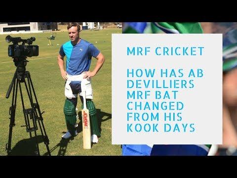 AB De'villiers Player Edition MRF Genius Elite Cricket bat Live review 2018