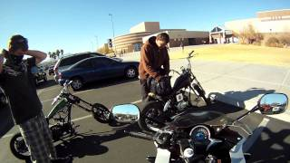 2011 CBR250R: Riding to School