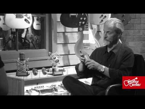At Guitar Center: Eddie Kramer, Talks Microphones