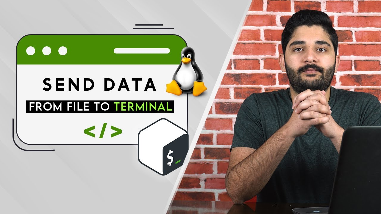 Bash S01 E02 | Send Data From Terminal to File