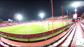 【360°】SCGスタジアム試合前の雰囲気1(タイサッカー:ムアントンユナイテッドFC本拠地)