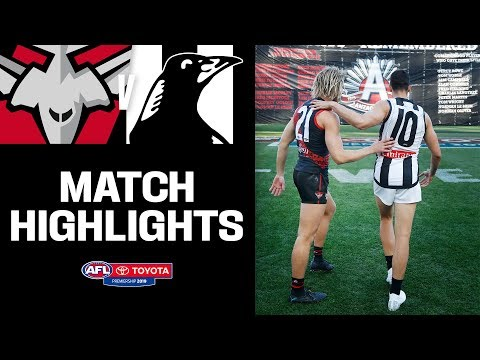 All-time Anzac Day thriller | Essendon v Collingwood Highlights | Round 6, 2019 | AFL