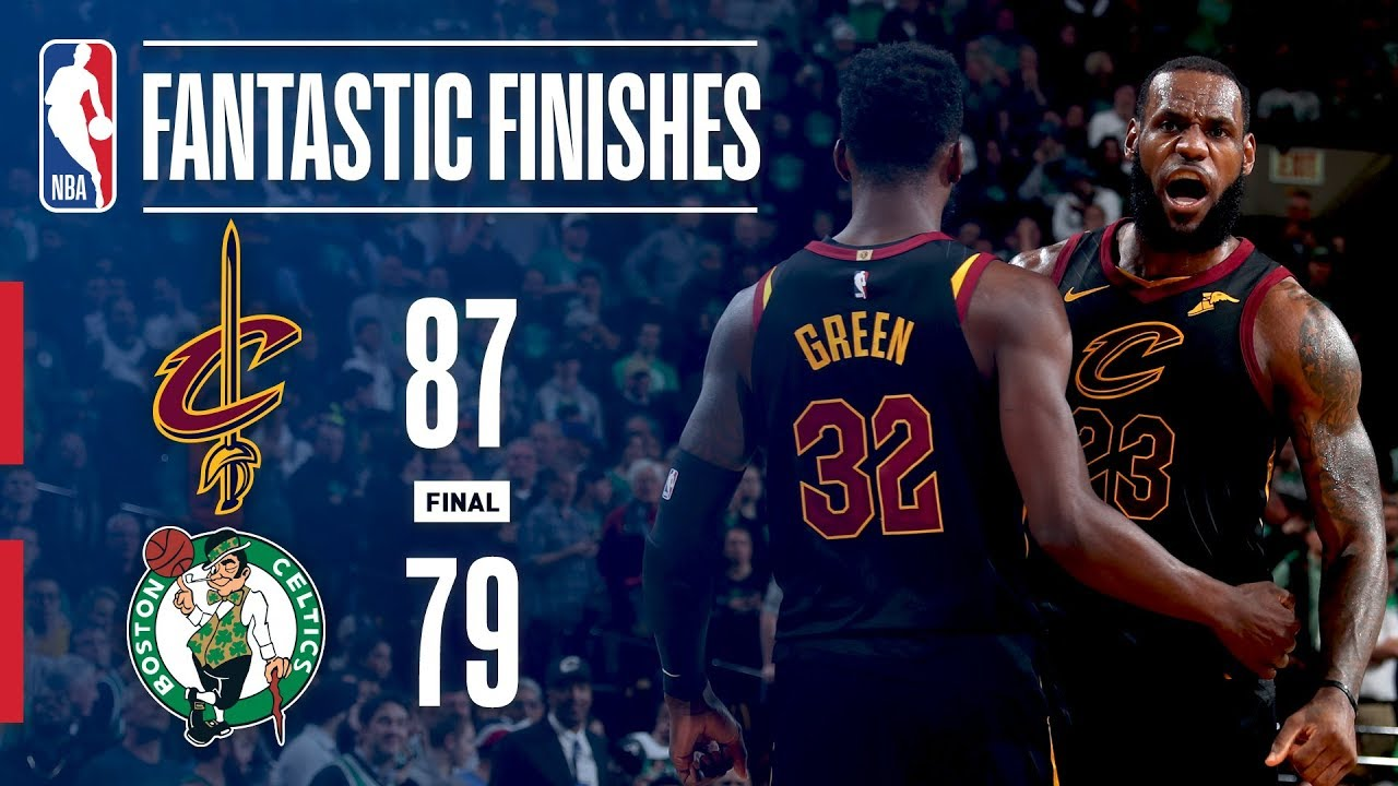 256bba6e0e1 The Cavaliers and Celtics Battle in GAME 7 Of The Eastern Conference Finals!