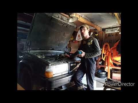 Volvo740 мелкий ремонт двигателя 1-я часть