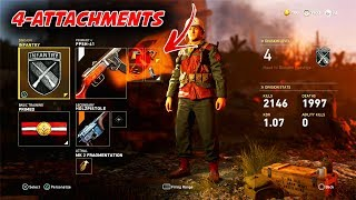 HOW TO ADD 4 ATTACHMENTS TO YOUR GUN IN COD WW2 MULTIPLAYER! | CALL OF DUTY WORLD WAR 2 DIVISIONS