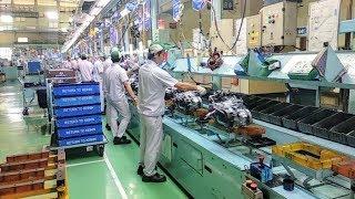 Proses Perakitan Motor Honda Di Pabrik Ahm Cikarang