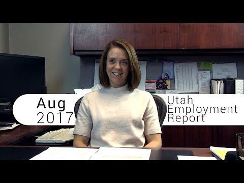 Utah Employment Report August 2017