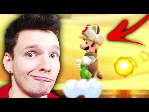 DAS STÄRKSTE POWER UP UND ICH VERLIERE ES SOFORT !! | New Super Mario Bros. U Deluxe #2