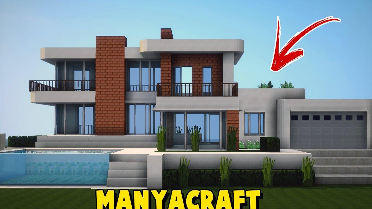 Minecraft cidade moderna olha minha casa moderna many for Casa moderna 6x6