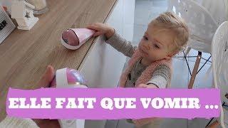 ELLE FAIT QUE VOMIR ! - VLOG FAMILLE 24.11