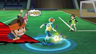 Inazuma Eleven Go Strikers 2013! Raimon Vs Inazuma Girls Wii 1080p (Dolphin/Gameplay)
