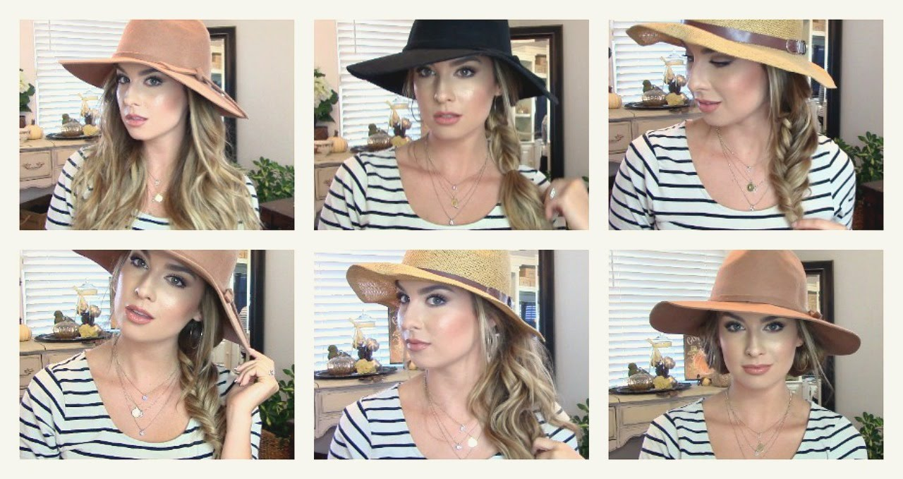 How To Style Your Hair With A Hat 6 Styles Under 6 Minutes Sexy