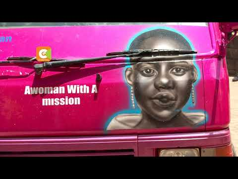Celebrating the queen of matatu graffiti