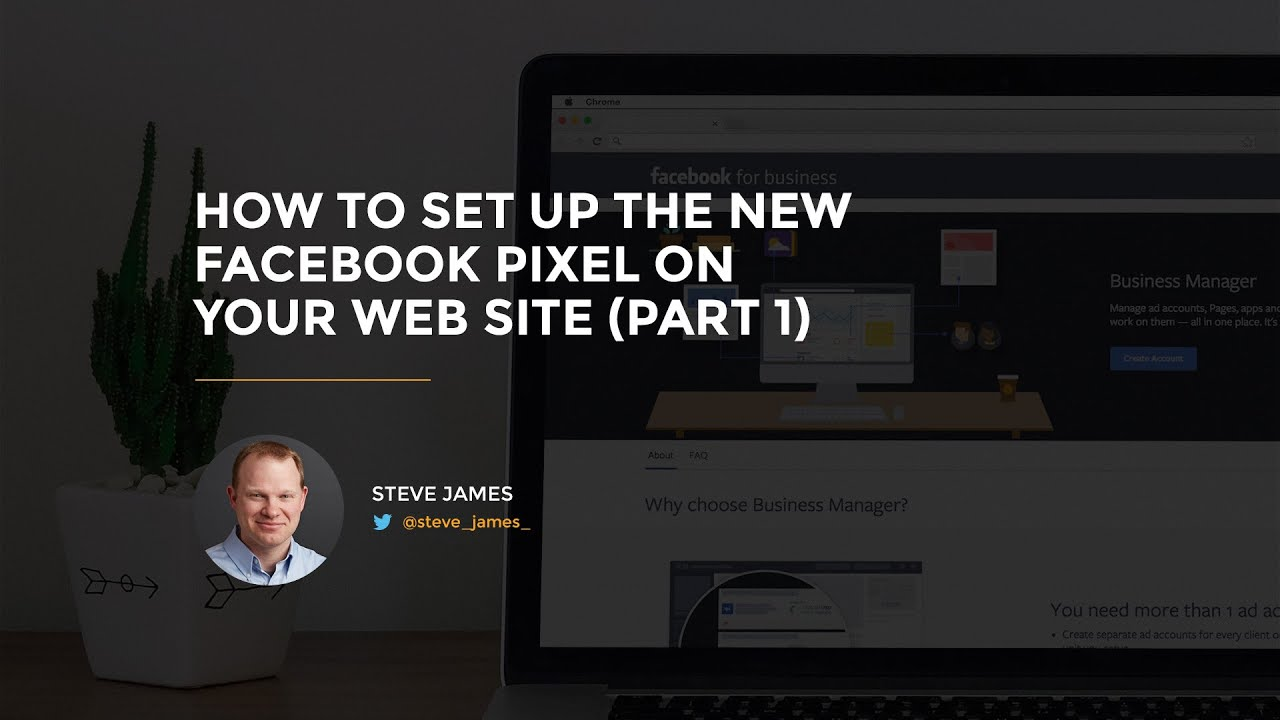 How to set up the new facebook pixel on your web site (2016.