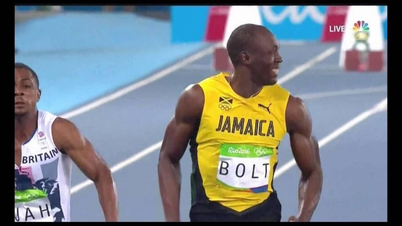 USAIN BOLT WINS MEN'S 100m FINAL RIO OLYMPICS 2016 - YouTube