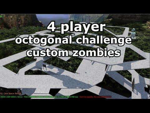 4 player Octogonal Challenge / Custom Zombies