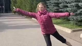 Skater A Trusova in the Guinness Book Фигуристка А Трусова в Книге рекордов Гиннесса