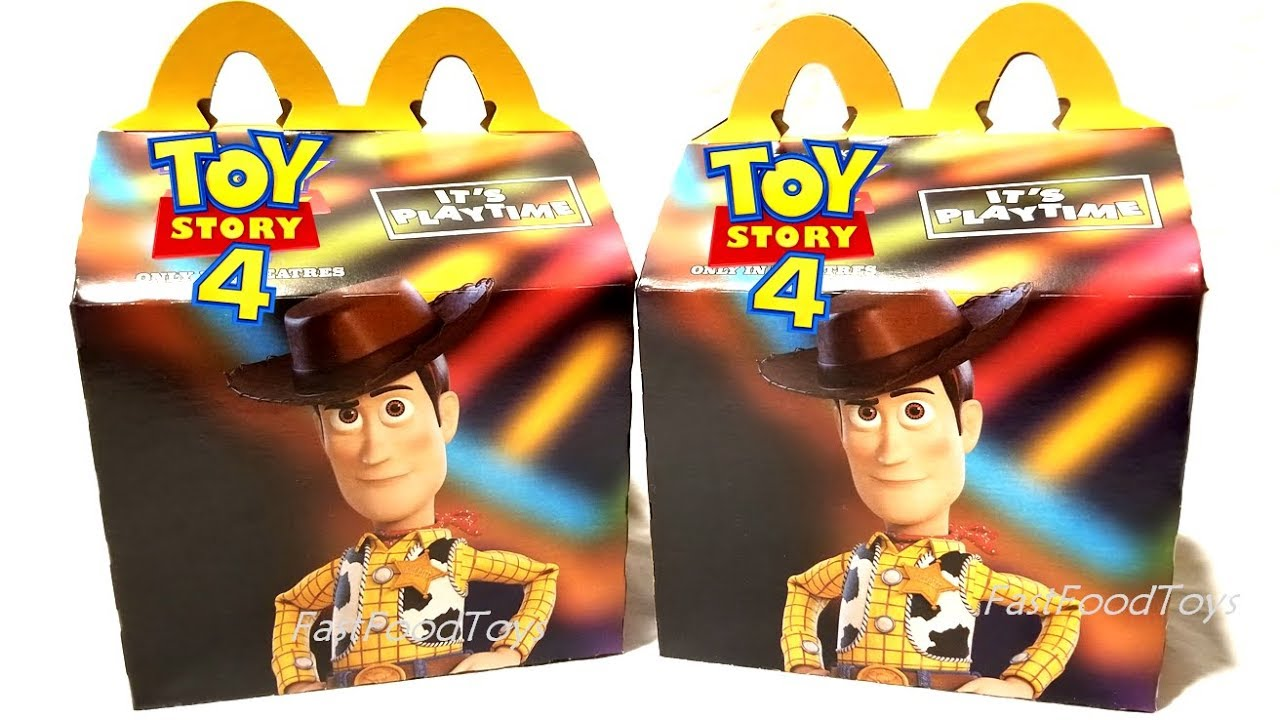 2019 Toy Story 4 Mcdonald S Happy Meal Toys Box Woody Secret Life Of Pets 2 Next Disney Lion King Us Youtube