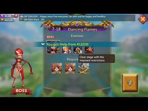 Lords Mobile 7-18 Challenge (f2p)