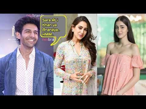 AMAZING Kartik Aryan Reveals his SECRET Valentine Sara Ali Khan Or Ananya Panday