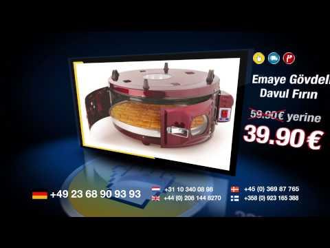 Davul Fırın 39.90 €, Kapaklı Izgara 24,90 €'ya sadece Alkapida.Com'da.
