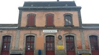 Petites gares du Limousin : Busseau et son viaduc en Creuse