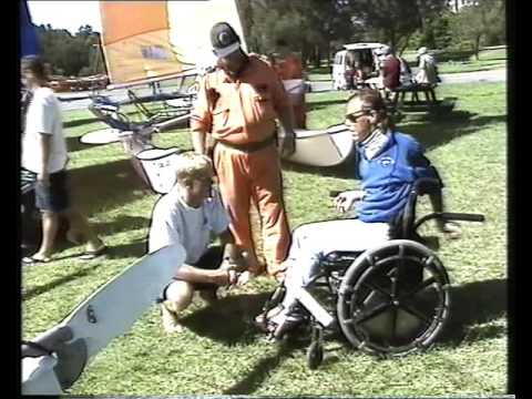Hobie Cat Trapseat Pittwater Australia Disabled Sailing