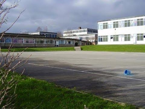 Westfield School Sheffield. Just after closure.