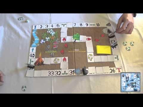 La tierra perdida juego de mesa gameplay youtube for Viciados de mesa