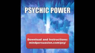 Repeat youtube video Psychic Power – Develop ESP, Clairvoyance And Telepathic Projection