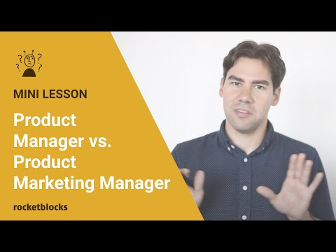 What's The Difference Between A Product Manager And A Product Marketing Manager?