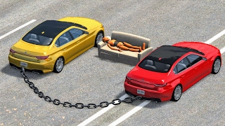 Download Chained Car Madness #1 - BeamNG Drive
