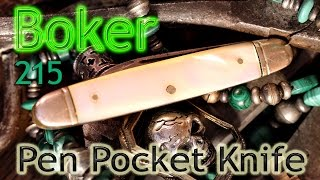 Video Vintage Boker U.S.A. 215 Pen Pocket Knife download MP3, 3GP, MP4, WEBM, AVI, FLV Juni 2018