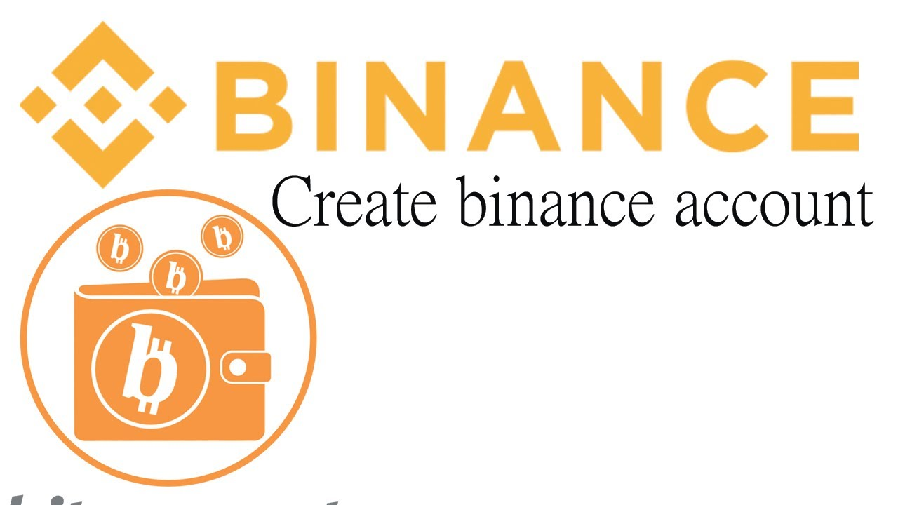 create binance account