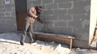 Строительство дома из пеноблока 200 мм.Пермь .Testo тепловизор.