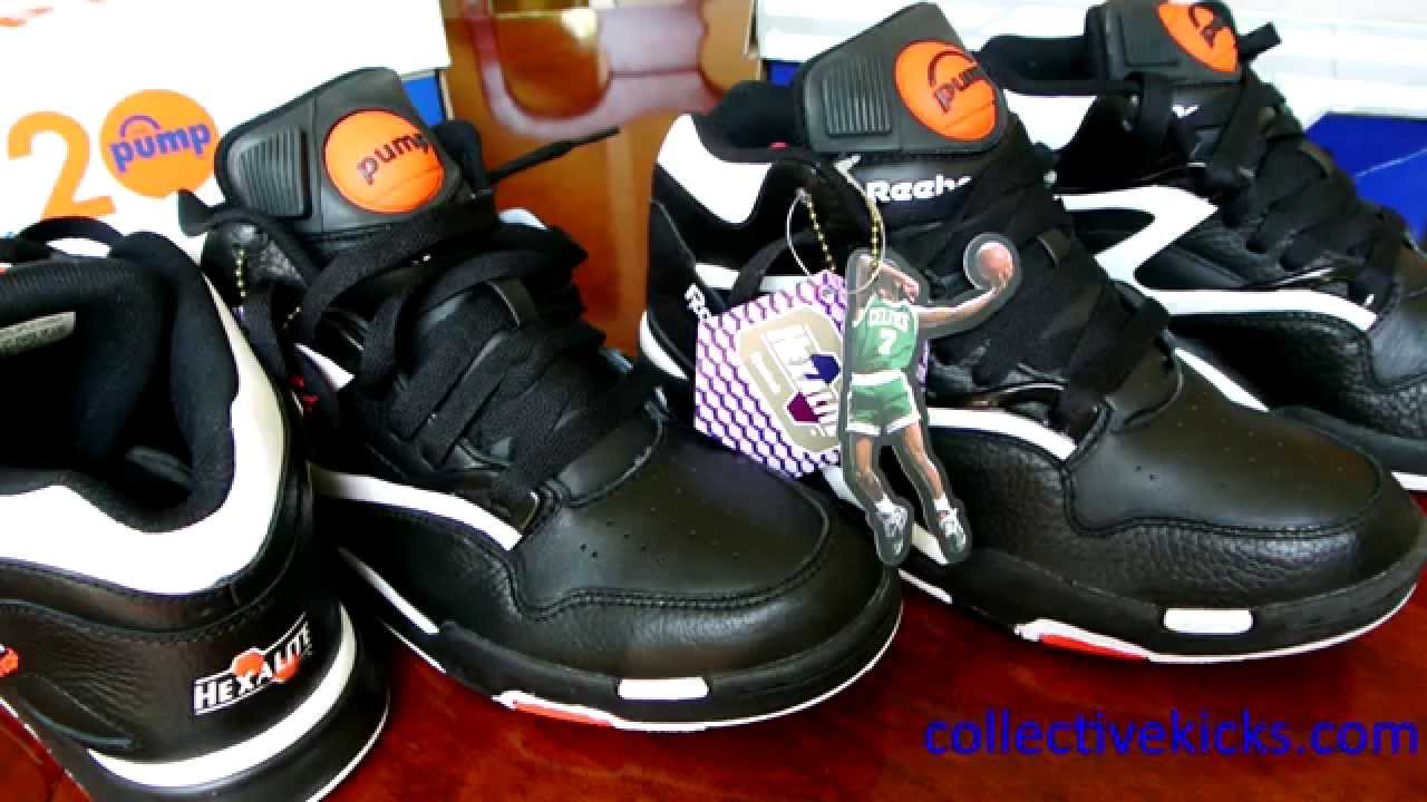 reebok pump omni lite 2007 limited vs 2010 retro youtube. Black Bedroom Furniture Sets. Home Design Ideas