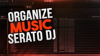 How To Organzine Your Music In Serato DJ