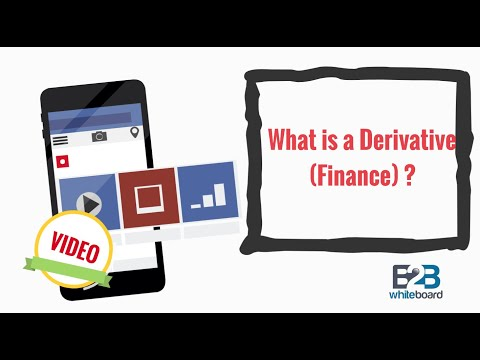 What is a Derivative (Finance) ?