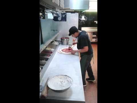 Croydon pizza busy time