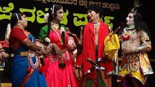 Yakshagana -- Bhojaraj Vamanjoor-Aravind bolar-Prajwal kumar-Hasya - 1